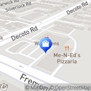 Map Walgreens Fremont, United States
