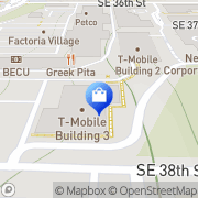 Map T-Mobile Bellevue, United States