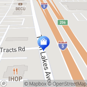 Map Target Marysville, United States
