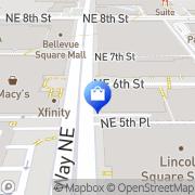Map Eddie Bauer Bellevue, United States