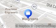 Map Walgreens San Carlos, United States