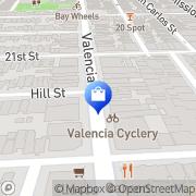 Map Aquarius Records San Francisco, United States