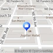 Map Redux Portland, United States