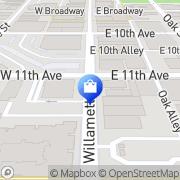 Map Cricket Wireless Eugene, United States