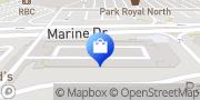Map LOFT West Vancouver, Canada