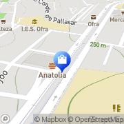 Map JOYERÍAS TE QUIERO Santa Cruz de Tenerife, Spain