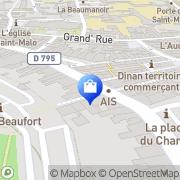 Carte de SFR Dinan, France