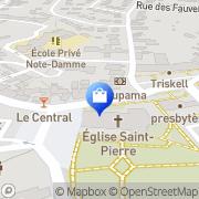 Carte de La Halle Aux Chaussures Plérin, France