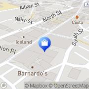 Map Poundland Leven, United Kingdom