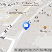 Map Cash Generator Kirkcaldy, United Kingdom