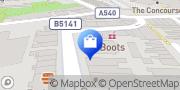Map Larry Adams Menswear Wirral, United Kingdom