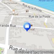 Carte de Kornog Port-Louis, France
