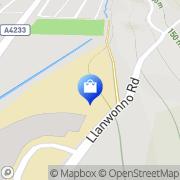 Map Retail Store Design Porth, United Kingdom