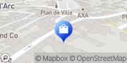 Carte de AXE-INFO Lannion, France
