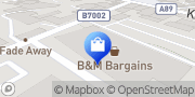 Map B&M Home Store with Garden Centre West Lothian, United Kingdom