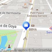 Map Cacharel Madrid, Spain