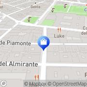 Map Maje Madrid, Spain