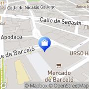 Map Hespen & Suárez Madrid, Spain