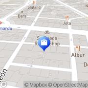 Map Wanda Madrid, Spain