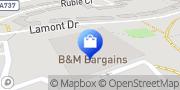 Map B&M Home Store Ayrshire, United Kingdom