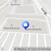 Map HomeGoods Braintree, United States