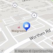 Map Walgreens Lexington, United States