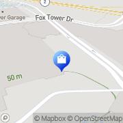 Map AT&T Store Mashantucket, United States