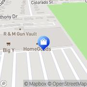 Map HomeGoods East Longmeadow, United States