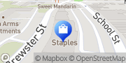 Map Staples Glen Cove, United States