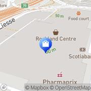 Carte de Yves Rocher Mont-Royal, Canada
