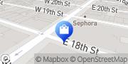 Map H&M New York, United States