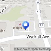 Map Walgreens Waldwick, United States