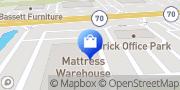 Map Mattress Warehouse of Brick - Market Square Brick Township, United States