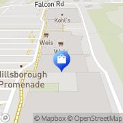 Map HomeGoods Hillsborough, United States