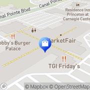 Map Williams-Sonoma Princeton, United States