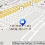 Map Northeast Shopping Center Philadelphia, United States