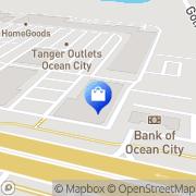 Map Hanesbrands Ocean City, United States