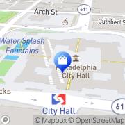 Map Paul Design Center Philadelphia, United States
