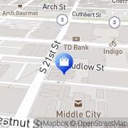 Map Henry A. Davidsen, Master Tailors & Image Consultants Philadelphia, United States