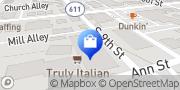 Map SkyBlue Vapor™ Online Store Stroudsburg, United States
