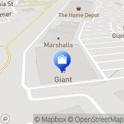 Map GIANT Pharmacy Easton, United States
