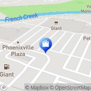 Map GIANT Pharmacy Phoenixville, United States