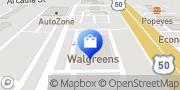 Map Walgreens Easton, United States