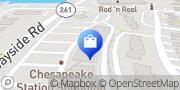 Map Verizon Authorized Retailer – Russell Cellular Chesapeake Beach, United States