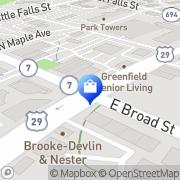 Map Galleria Florist Falls Church, United States