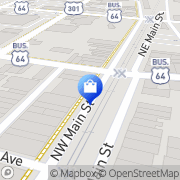 Map Almand's Drug Stores Rocky Mount, United States