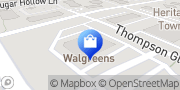 Map Walgreens Wake Forest, United States