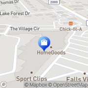 Map HomeGoods Raleigh, United States