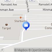 Map Target Buffalo, United States