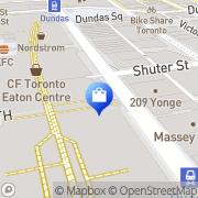 Map Fido Toronto, Canada